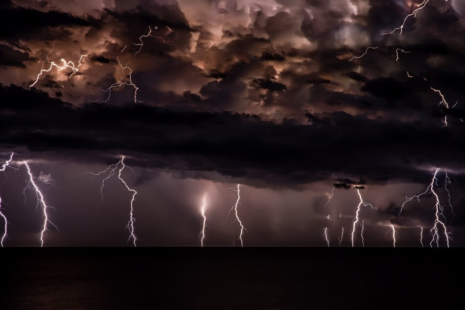 A massive storm of electricity